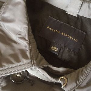 Banana republic double breasted lightweight coat.